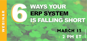 6 Ways Your ERP System is Falling Short